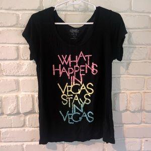 Tops - what happens in vegas, stays in vegas t shirt